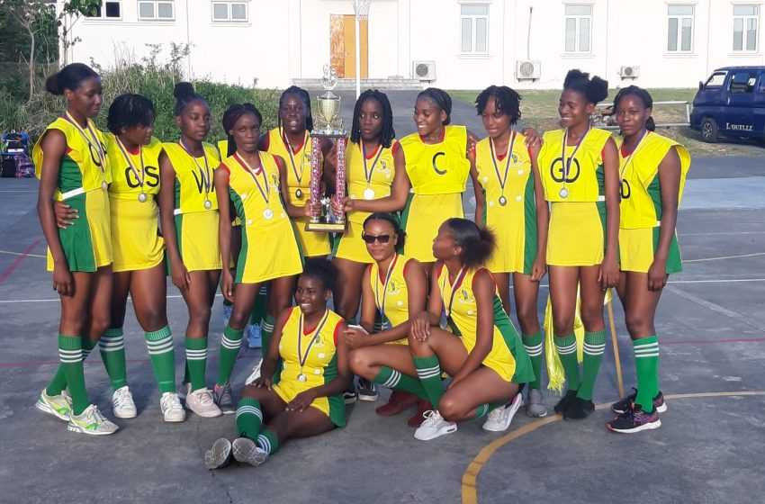 Dominica State College B Team captures 2021 Secondary Schools Sports Division Under 20 Netball Championship