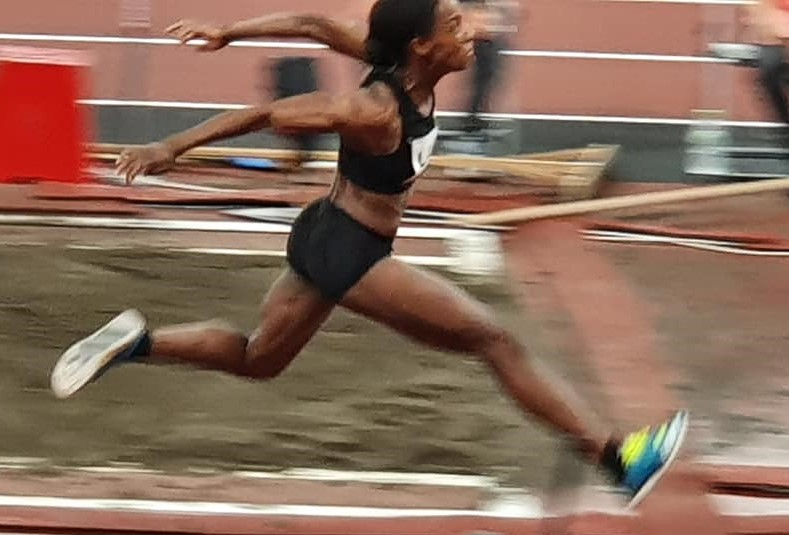 Olympic Athlete Thea Lafond sets new national record as she advances to the finals of the Women's Triple Jump
