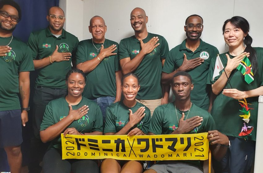Dominica Olympic Committee  Salutes Dominica's Athletes at 2020 Tokyo Olympics