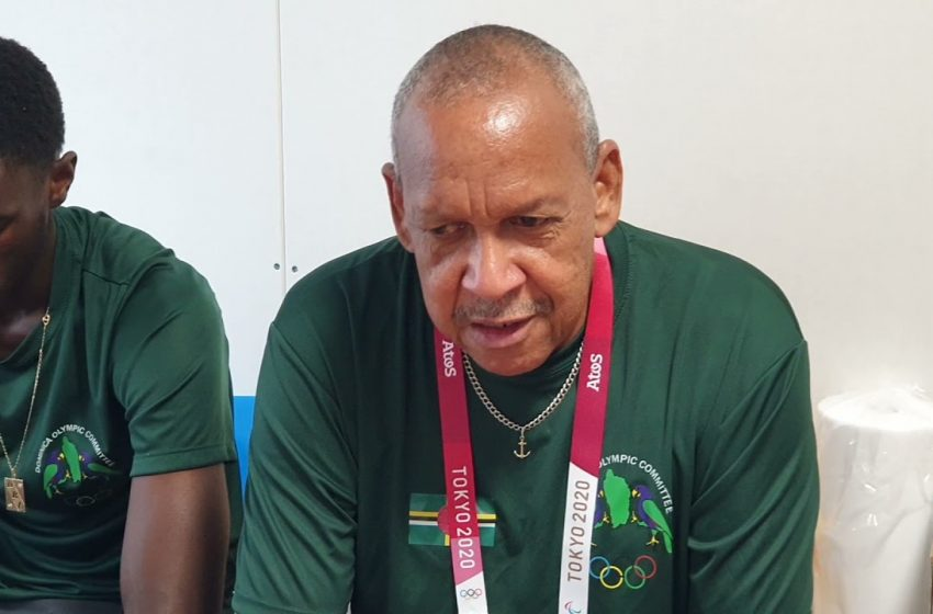 President of the Dominica Olympic Committee Salutes Dominica's Athletes at 2020 Tokyo Olympics