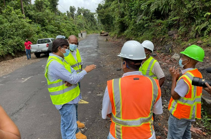 DVRP says Works are progressing well on the East Coast Road Project