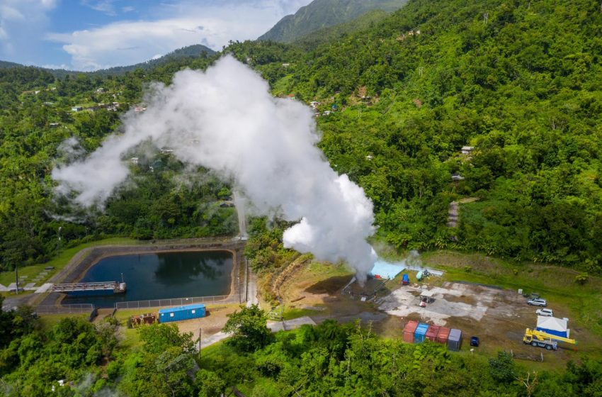 Dominica Continues To Make Strides In The Development Of Geothermal Energy.